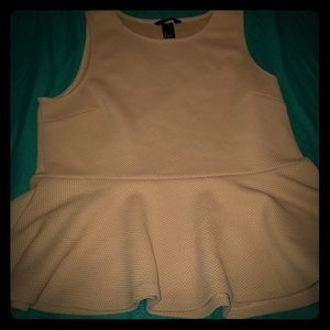 H &M size large top